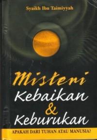 Buku Misteri Kebaikan & Keburukan